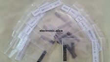 New SOT-23 SMD Transistor Assortment Kit 13 value s9012 s9013 c1815 etc