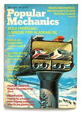 Popular Mechanics JANUARY 1974 Bridge for Alaskan Oil Building Modular Furniture