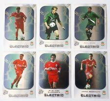 Futera Liverpool Electric 2000 Complete Insert Chase Card Set