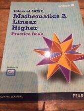 Edexcel Gcse Maths A Linear Higher Pearson Practice Book