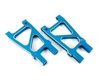 HSP 188021 CNC Aluminum Rear Lower Suspension Arms, Blue for Redcat Volcano S30