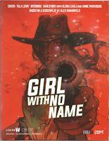 Girl With No Name - Tula Lotay Regular Red Cover (Legion M) Kickstarter
