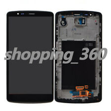 for LG G3 VS985 US990 LS990 D851D850 LCD Screen Touch Digitizer +Frame USPS