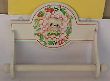 Porte rouleau d'essuie tout décoré. - Pour la décoration de la cuisine