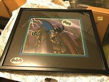 """The Dynamic Duo"" Batman and Robin Framed Limited Edition Cel Art BTAS WB"
