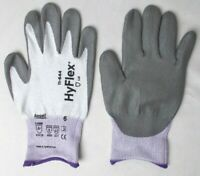 "Gloves Cut Resistant ANSELL 11-644 HyFlex® Light Gray Size 6 "" 1 Pair """