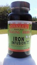 Dr. Sebi Inspired - Herbs - IRON INFUSION (60ct)