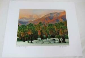 Mountain View Palm Springs - 11x14 Photograph signed Brian Blackwelder - #03