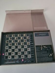 Kasparov Plus Chess Computer By Scisys Vintage Retro