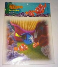 Disney Finding Nemo Finally Home Sealed Art to Sew craft quilting Fish Pixar New