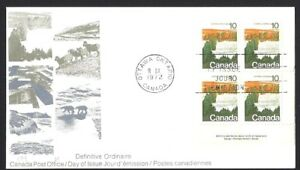 Canada  # 594 LRpb    LANDSCAPES - FOREST     New 1972 Unaddressed