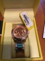 Invicta Women's 17902 Angel Analog Display Swiss Quartz Rose Gold Watch