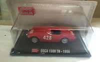 """DIE CAST 1000 MIGLIA """" OSCA 1500 TN - 1956 """" + BOX 2 SCALA 1/43"""
