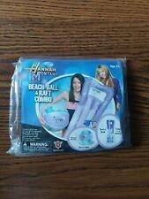 Hannah Montana Beach Ball & Raft Combo New Unopened Disney