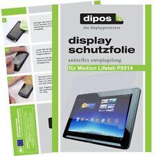 Dipos Antireflex Displayschutzfolie für Medion Lifetab P9514 Displayfolie