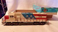 HO Scale Atlas EMD GP-38 Diesel Locomotive, 1776 Bicentennial Spirit of 76