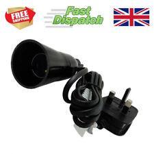 More details for wine bottle light lamp adaptor kit fitting 2m uk plug vintage black