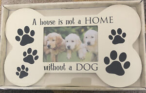 Dog Photo Frame Great Gift For Dog Lovers A House Is Not A Home Without A DOG