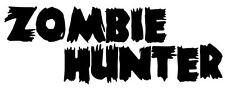 6 x petit zombie hunter stickers (the walking dead world war z 28 jours plus tard)