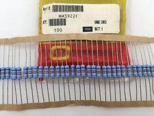 (100 pcs) MM3922F Ohmite, 1 Watt  39.2K Ohm  1%, Metal Film Resistor (Axial)