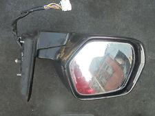 HONDA CR-V PASSENGER SIDE WING MIRROR IN BLACK (E512M2 YR571P) 2009-2011