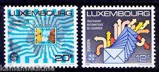 1988 Luxembourg Europa CEPT MNH 2v, Transport & Communications  -  S03