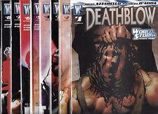 DEATHBLOW #1-#8 SET (NM-) WILDSTORM COMICS
