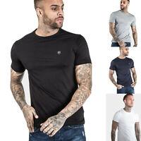 883 Police Mens Casual Cotton Slim Fit Crew Basic Designer T shirt Tee 4 Colours