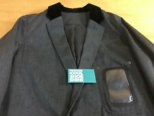 Undercover Japan Jun Takahashi Velvet Collar Trench Coat Charcoal Gray 2