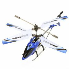 Syma S107G Mini 3.5 Channel Infrared RC Helicopter with Gyro (Blue) N6Y6