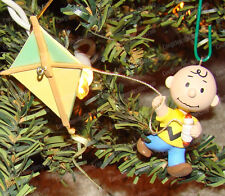 Going UP? Charlie Brown (QEO8433 Hallmark Peanuts Ornament, 1998) Flying Kite