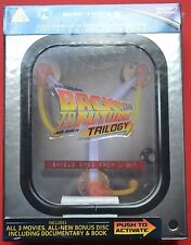 BACK TO THE FUTURE~FLUX CAPACITOR BOXSET~RARE UK IMPORT~BLU-RAY~REGION FREE~NEW