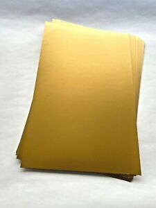 Gold Metallic Card X 25 sheets 50x33cm - Art and Crafts