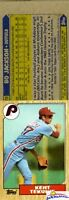 1987 Topps Bo Jackson Wrong Front ERROR Card! Vintage over 20 Years Old!