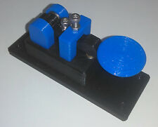 New Lightweight Micro Blue Morse Code Telegraph Key Made In Usa