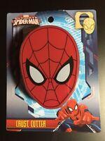 SPIDER-MAN CRUST CUTTER MARVEL BRAND NEW SCHOOL LUNCH BOX SANDWICH BREAD CUTTER