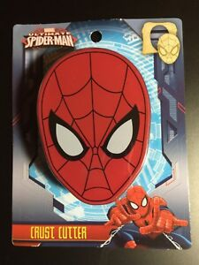 SPIDER-MAN CRUST CUTTER MARVEL BRAND NEW SCHOOL LUNCH BOX SANDWICH BREAD CUTTER