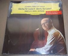 Narciso Yepes BACH Works for Lute II - DG 2530 462 SEALED