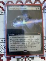 Extended Art NM English MTG Commander Legends MagicCard D4B Boros Charm 687