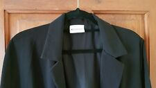 Variations Long Black Jacket