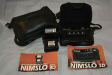 """Nimslo 3D Camera Made In Uk """"Rupertvision"""" Untested with Carrying Case Flash"""