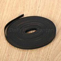 10m GT2-6mm Open Timing Belt For 3D Printer RepRap Rubber Cut-to-Length Black