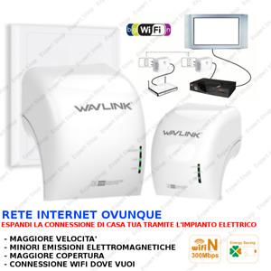 RIPETITORE GRID POWERLINE Connettiti tramite il tuo impianto elettrico, wifi ext