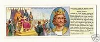 The Magna Carta King John Vintage Typhoo Card
