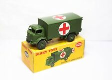 Dinky 626 Military Ambulance In Its Original Box - Excellent Vintage Original