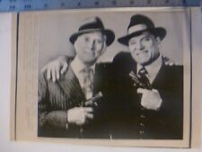"Vintage Wire Press Photo Burt Lancaster Kirk Douglas ""Tough Guys"" 10/17/1986"
