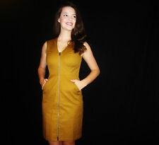 NWT KATE SPADE SATURDAY LET'S MAKE CONTACT DRESS IN MUSTARD SIZE 2  RETAILS $160