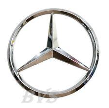 New For Mercedes Benz Chrome Star Trunk Emblem Badge 90mm Sticker