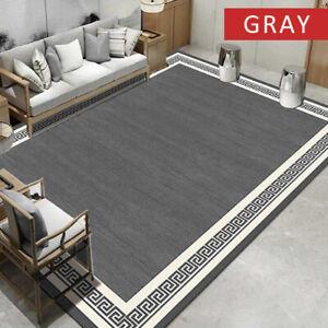 Grey 60 x 110 cm Soft Area Rugs Living Room Bedroom Carpet Floor Door Mats Rugs