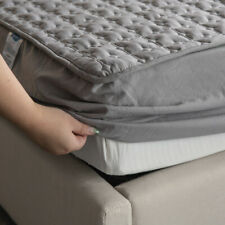 Fitted Mattress Topper Protector Breathable Washable High Quality Cotton Bespoke